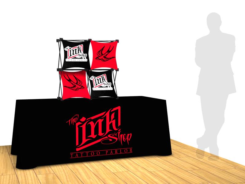 table top exhibit display